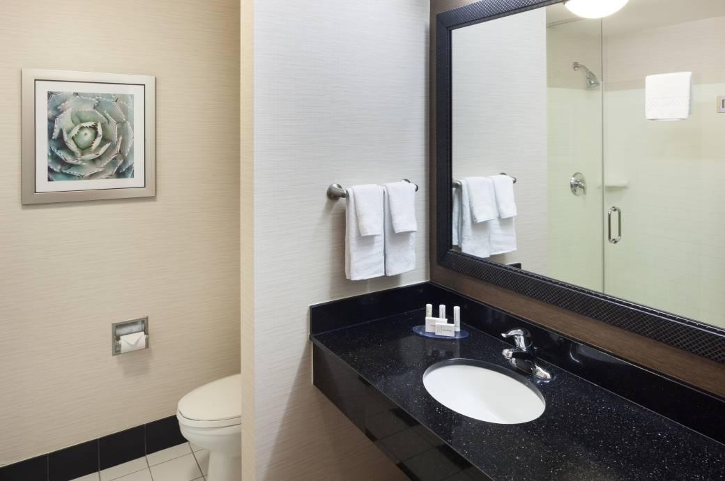 Fairfield Inn & Suites Chandler Fashion Center QNQN Bathroom