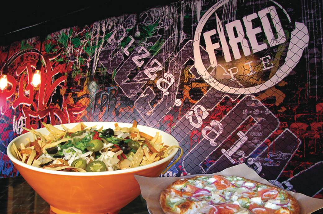 Customizable Pizza and Salads at Fired Pie in Chandler Arizona