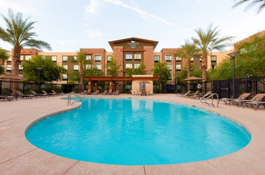Homewood Suites Phoenix Chandler Fashion Center Pool