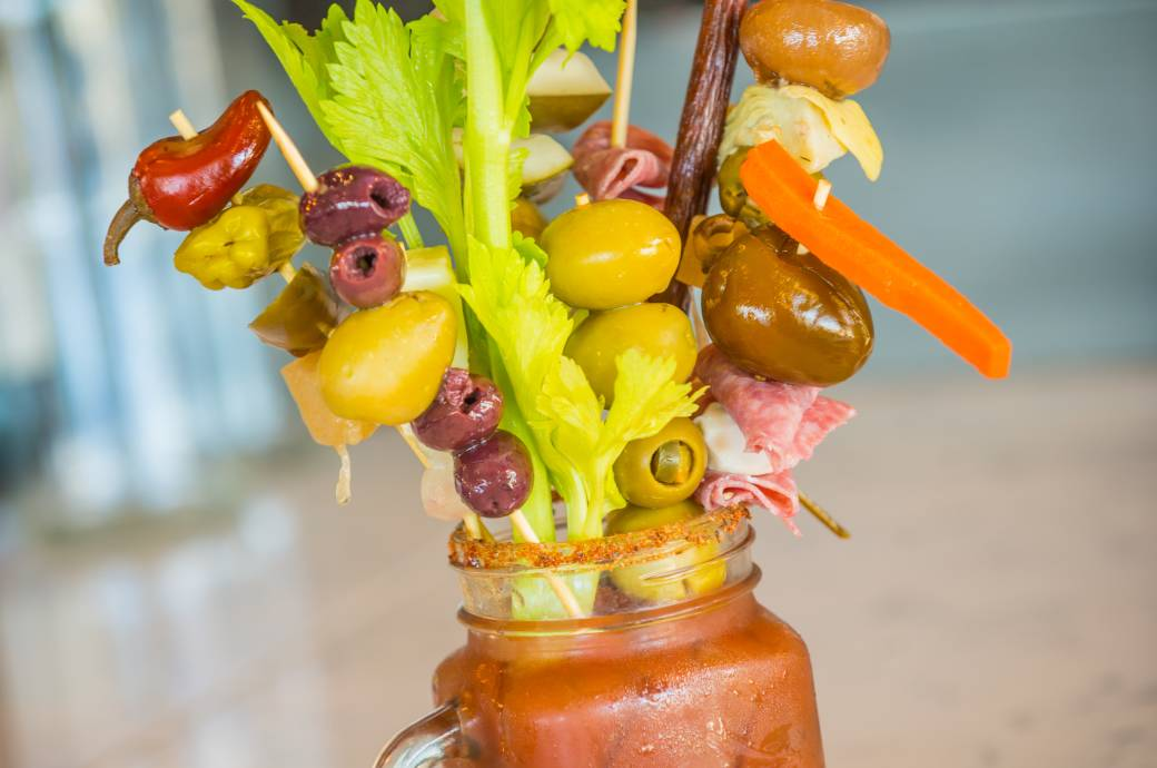 Hash Kitchen  - Build Your Own Bloody Mary Bar