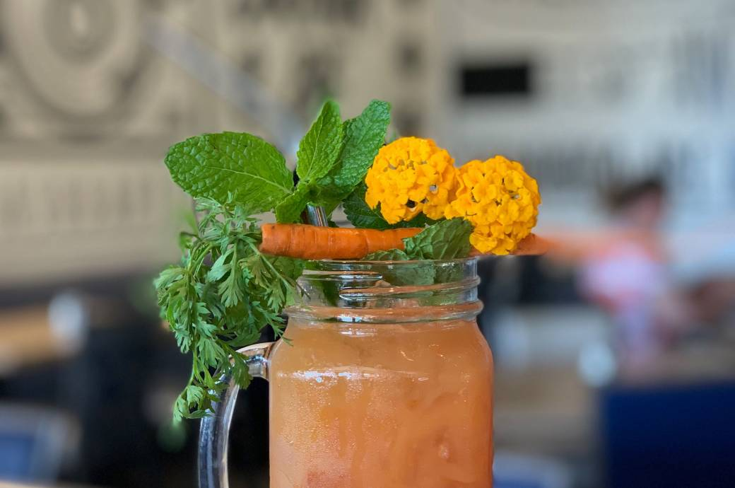 Retox Detox, craft cocktail from Hash Kitchen for Chandler Craft Cocktail Trail