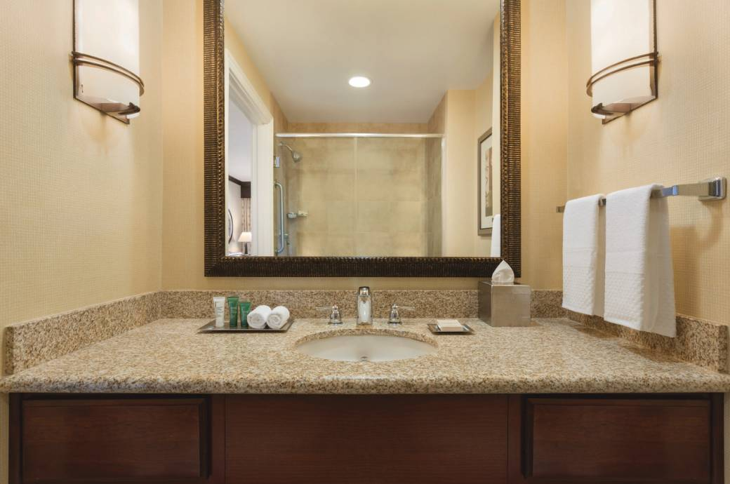 Hilton Phoenix Chandler Guest Bathroom