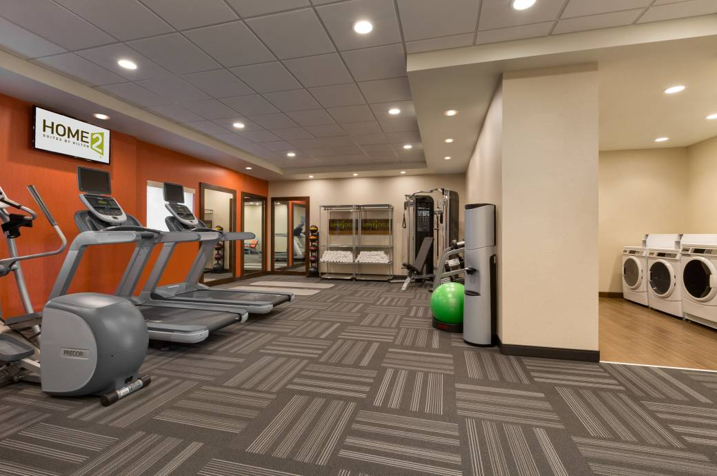 Home2 Suites by Hilton Phoenix Chandler PHXPC Fitness Center with Spin2 Cycle