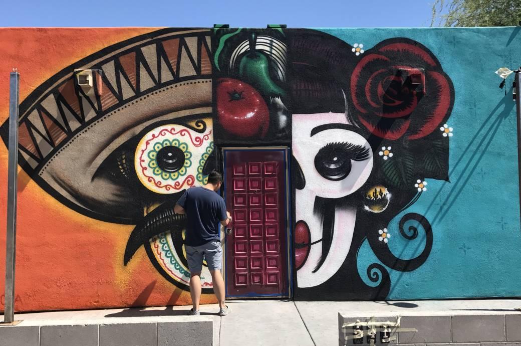 Ghett Yo' Taco Mural by Lalo Cota