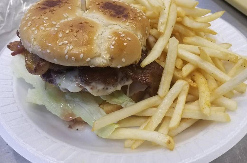 Julia's Mesquite Mexican Grill - Burger