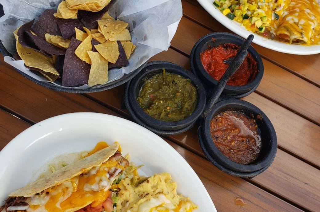 La Ristra New Mexican Kitchen - Lunch Plate