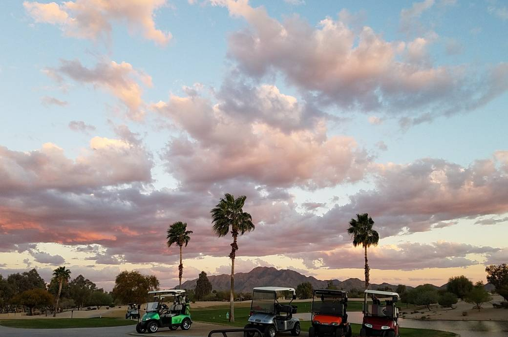 Lone Tree Golf Club at Sunset