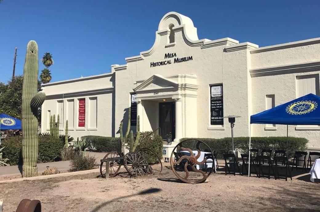 Mesa Historical Museum - Exterior