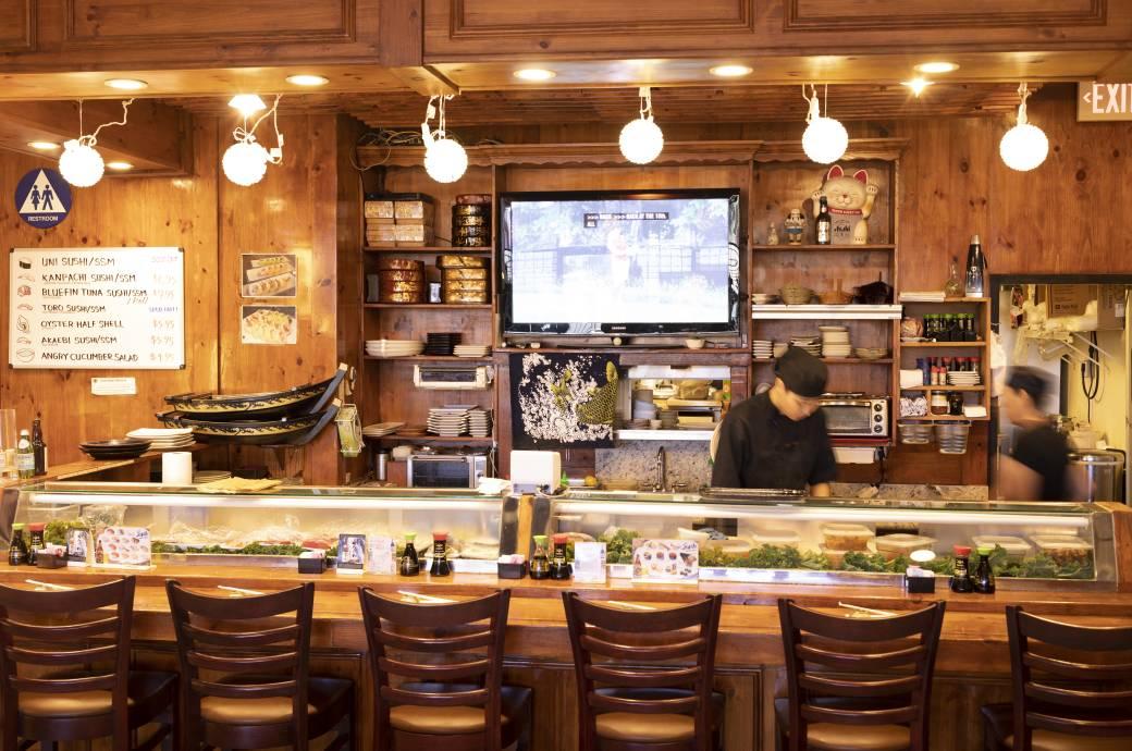 Mikado Sushi - Interior