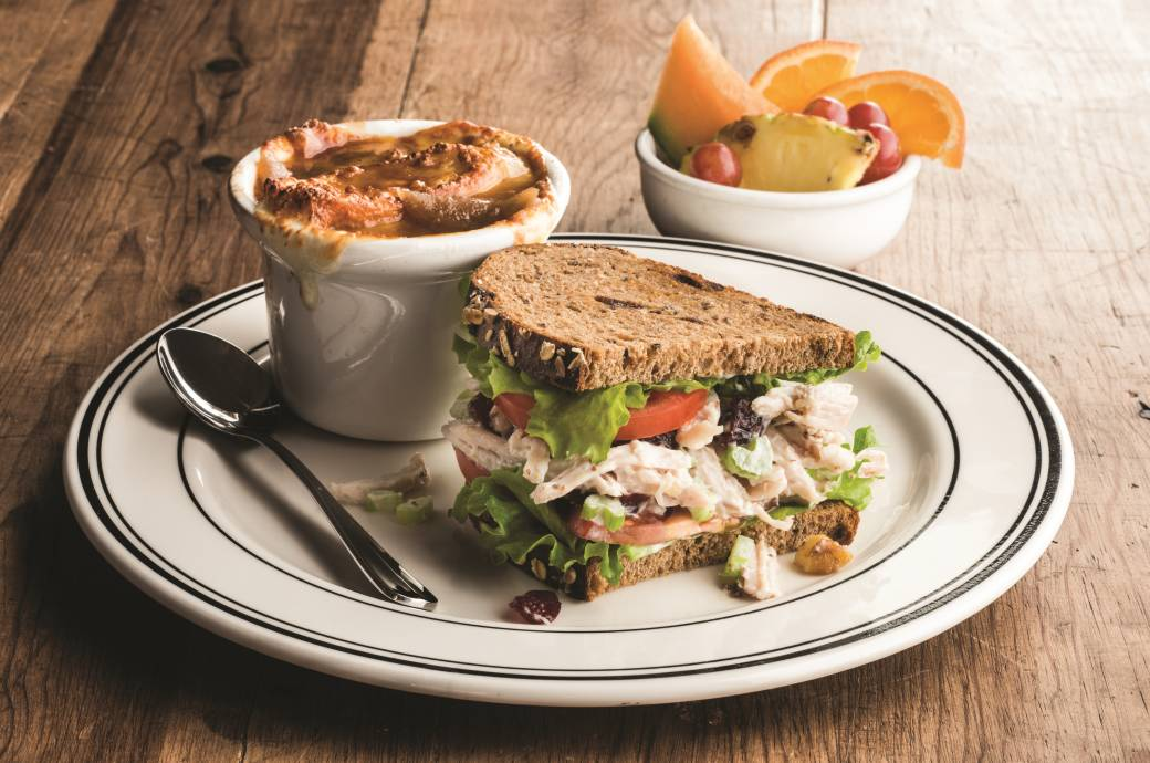 Mimi's Soup, Sandwich and Salad Trio