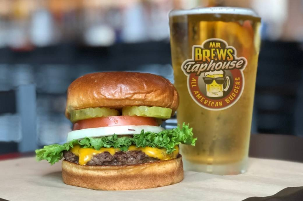 Mr Brews Taphouse in Chandler - Burger and Beer
