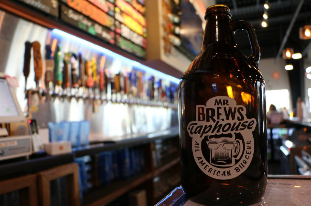 Mr Brews Taphouse in Chandler - Growler