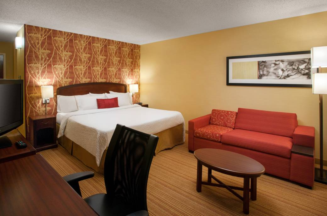 Courtyard by Marriott Phoenix - Chandler  - King Bed Room