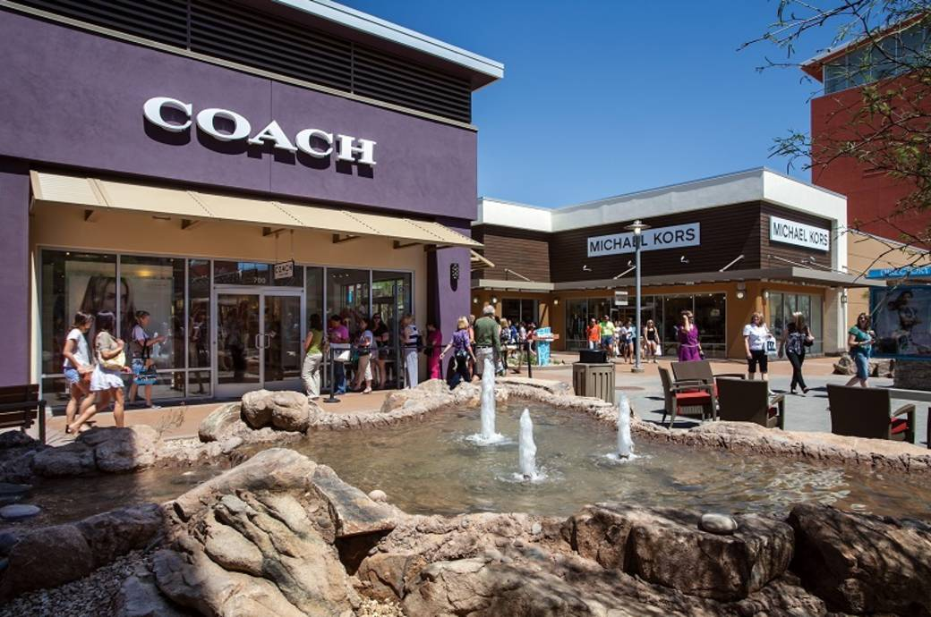 Phoenix Premium Outlets with designer outlets at Wild Horse Pass in Chandler, AZ