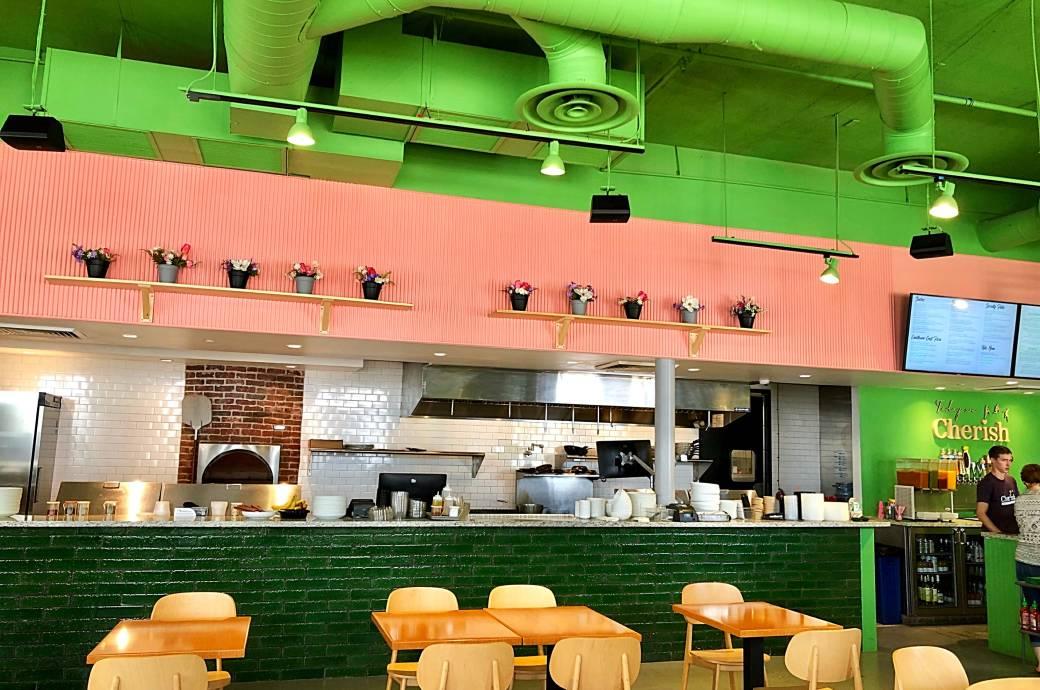 Cherish Farm Fresh Eatery - Interior