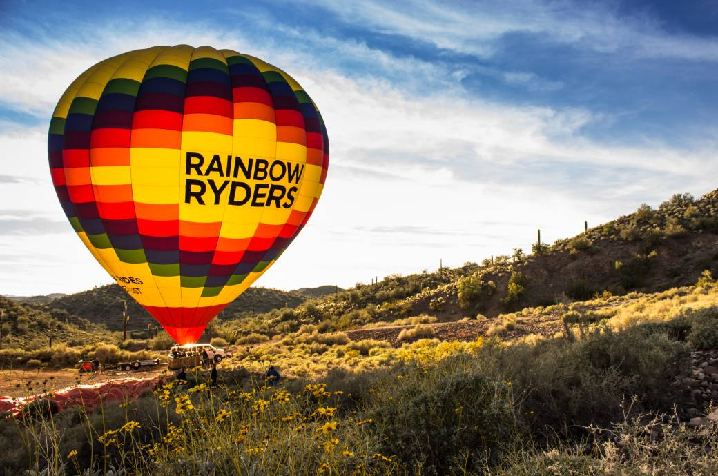 Rainbow Ryders in the Desert