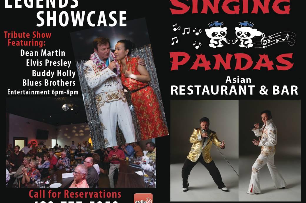 Singing Pandas Asian Restaurant & Bar Entertainment