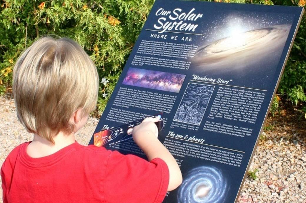 Chandler Solar System Walk at Veterans Oasis Park