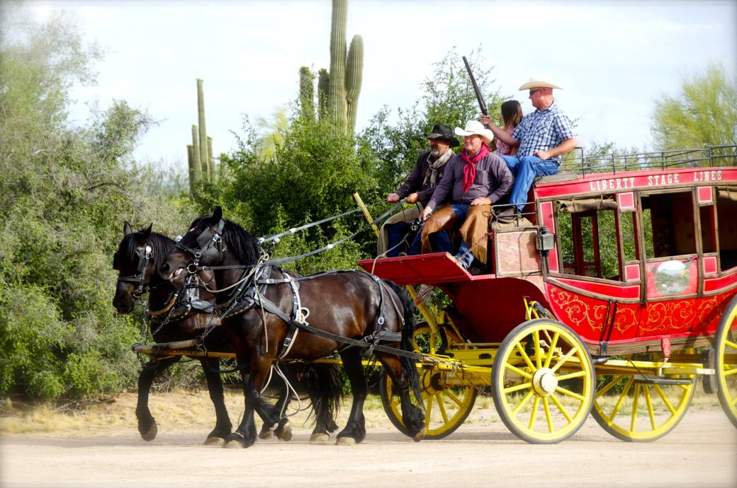 MacDonald's Ranch Stagecoach Ride