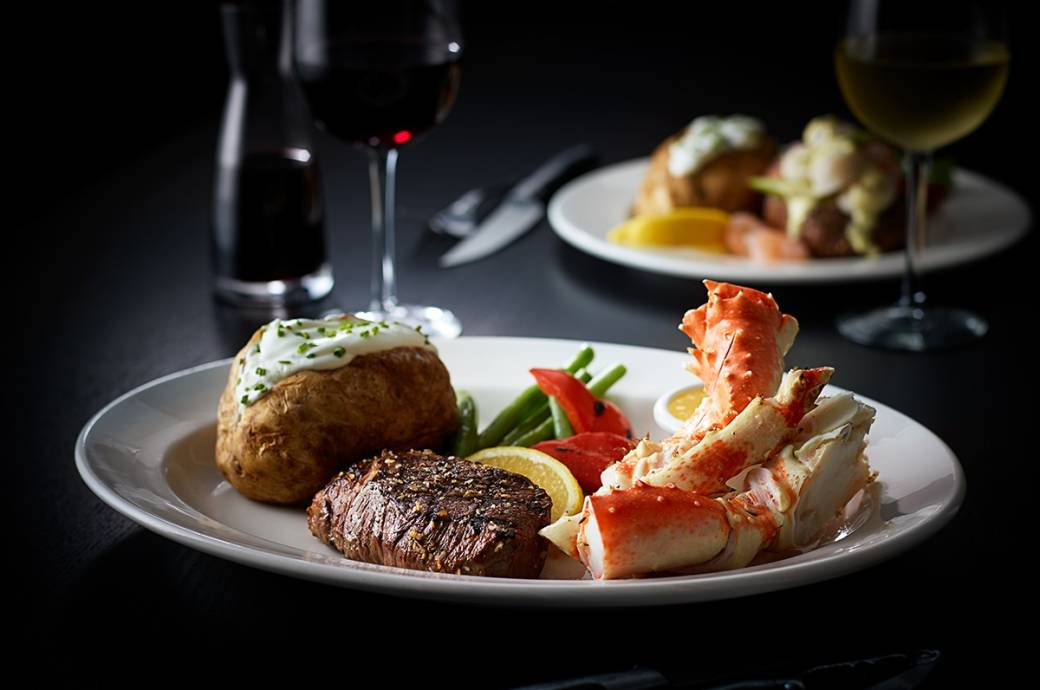 The Keg Steakhouse + Bar, Steak and Crab