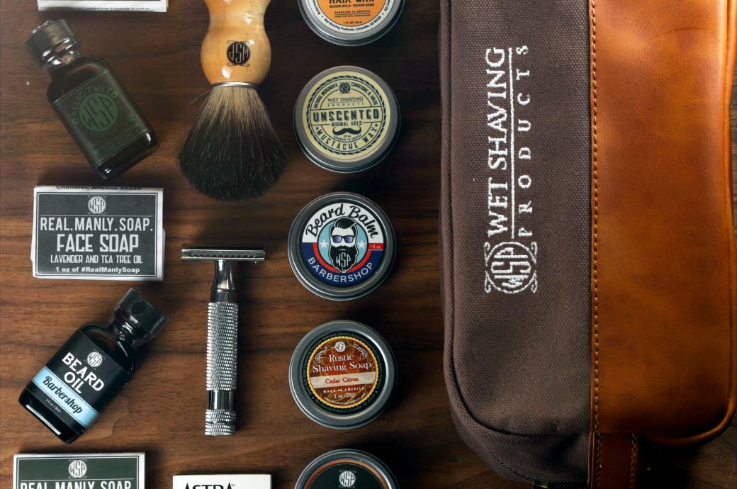 Wet Shaving Products - Travel Kit