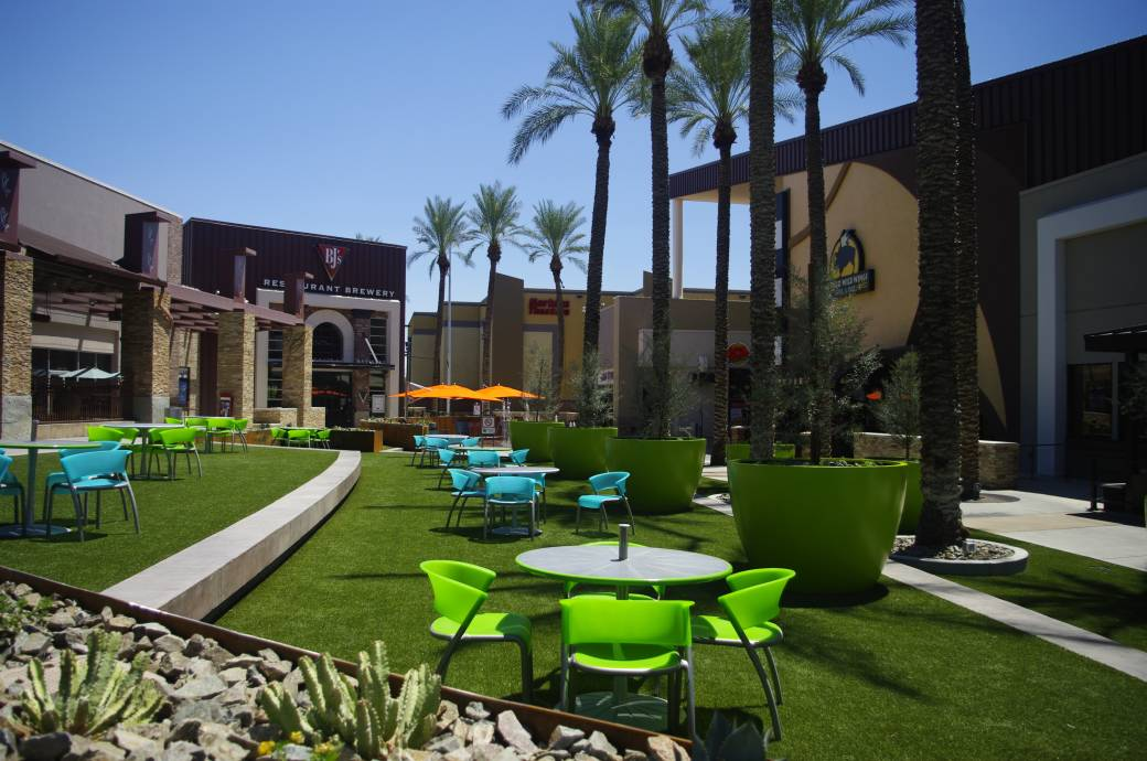Chandler Fashion Center mall - outdoor village