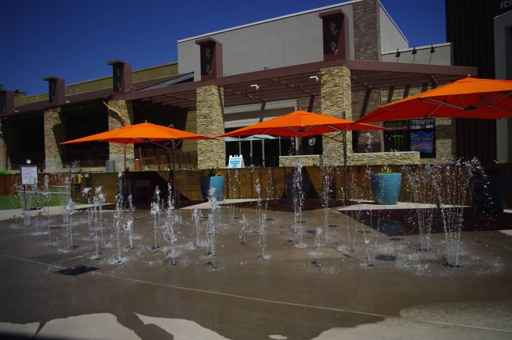 The Splash Pad at Chandler Fashion Center Mall