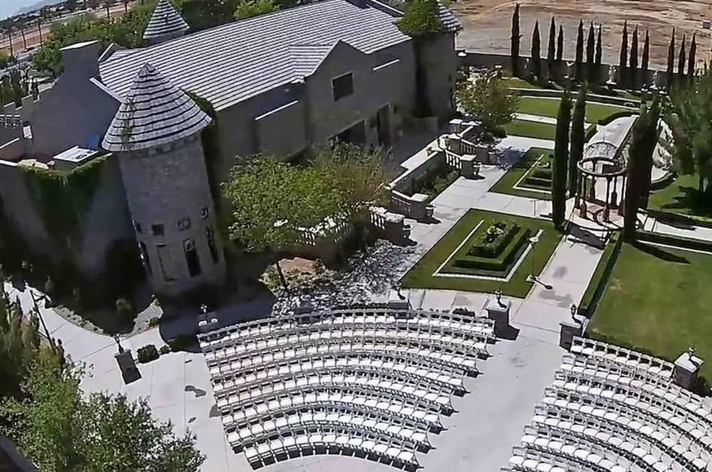 The Ashley Castle - Aerial Shot