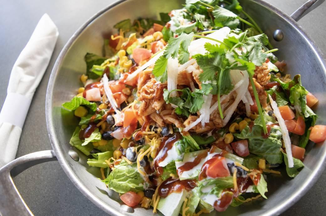 Grubstak BBQ Chicken Salad