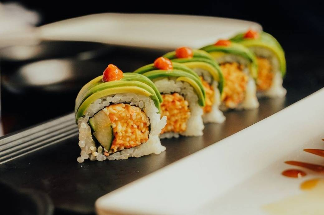 Crazy Tuna Sushi - Sushi Roll