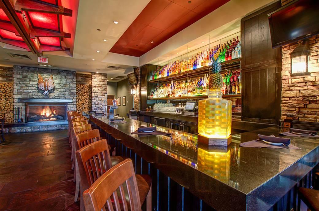 Firebirds Wood Fired Grill - Interior Bar