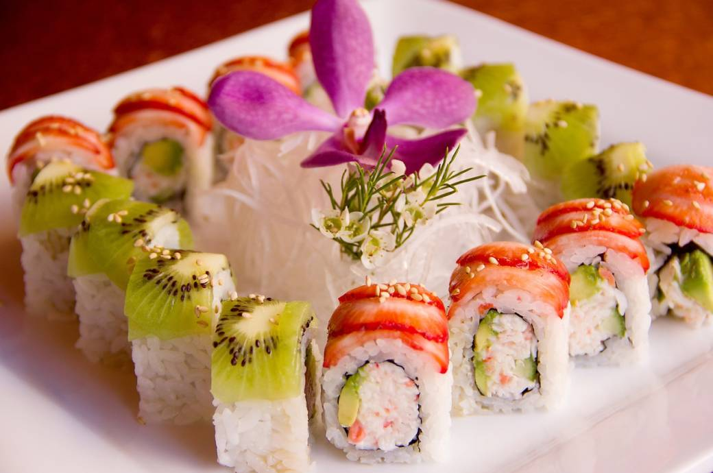 The Sushi Room's Fruit Fusion Roll