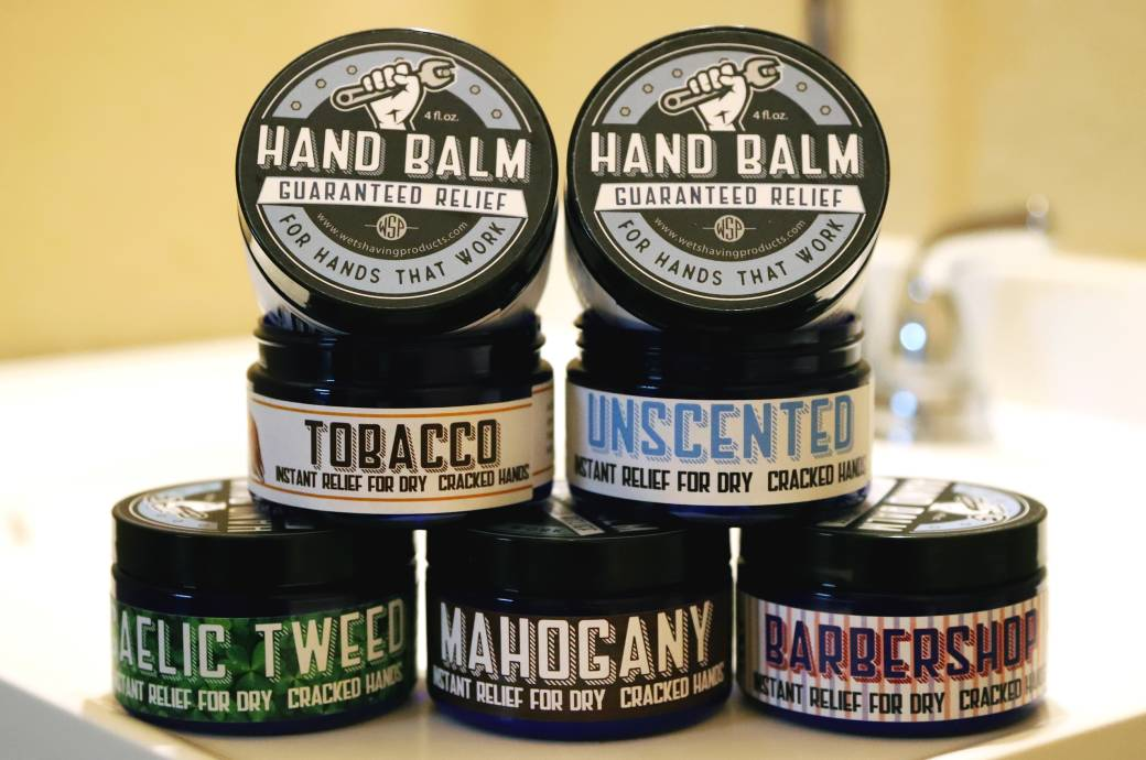Wet Shaving Products - Hand Balm