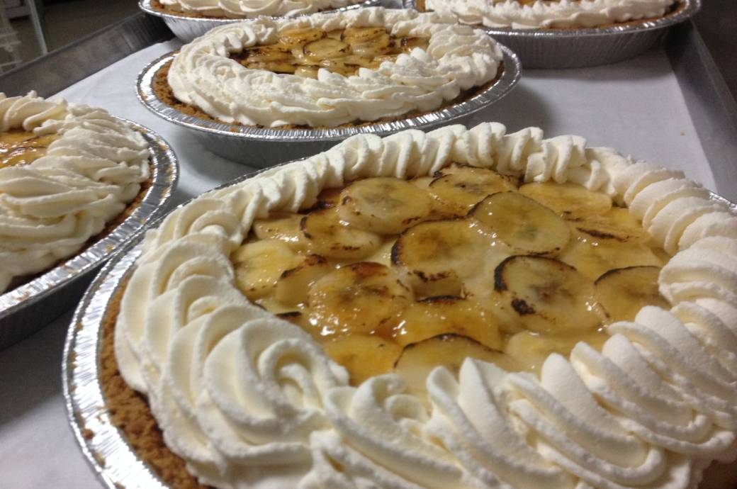 AZ Food Crafters Banana Cream Pie