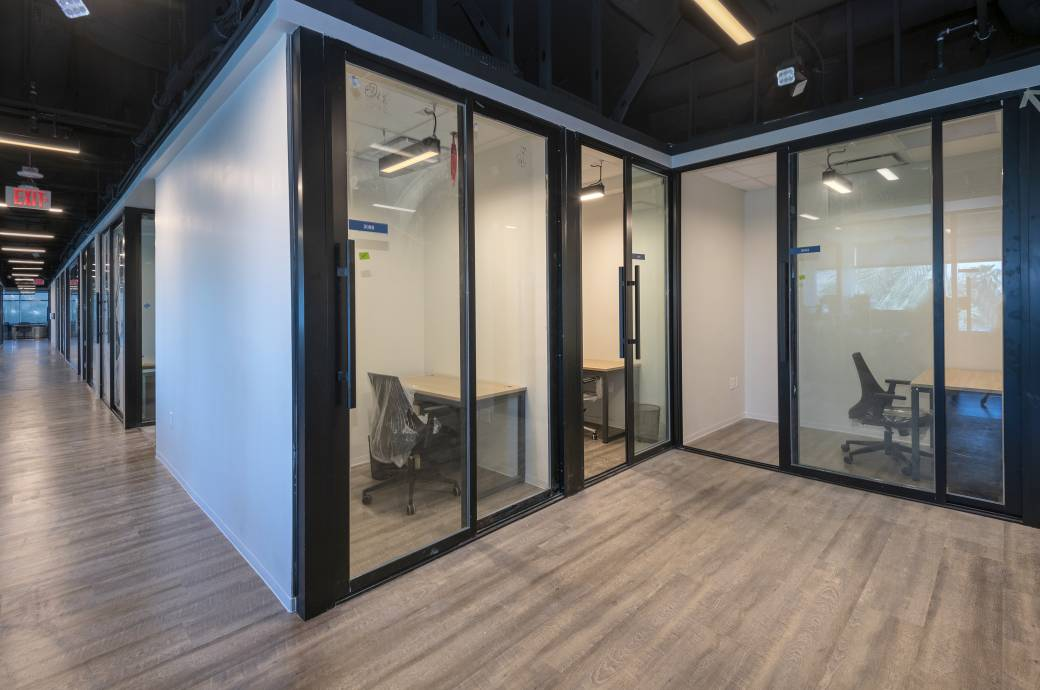Workpliciti - Interior, private offices