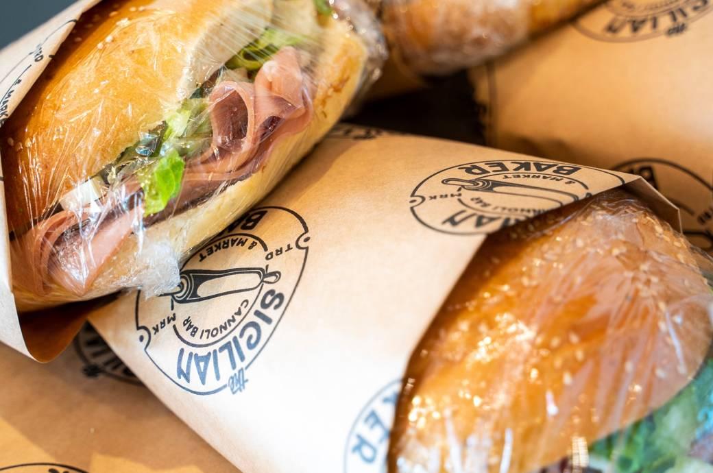 The Sicilian Baker - Muffuletta Sandwiches