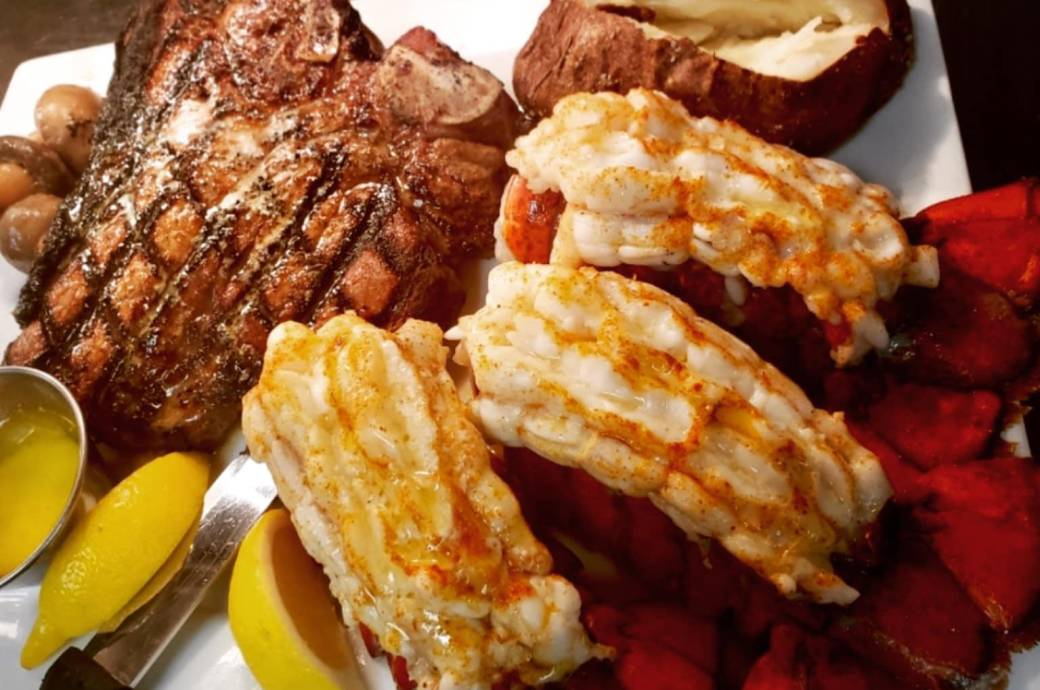 DC Steak House - Surf and Turf