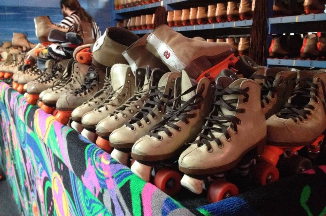 USA Skateland - Chandler, rollerskates