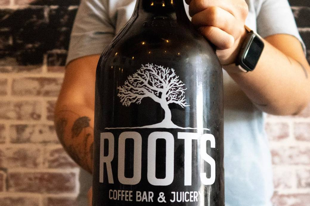 Roots Coffee Bar & Juicery - Cold Brew Growler