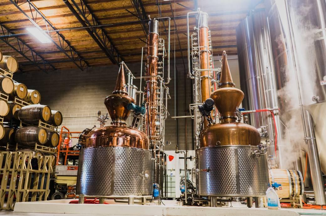 SanTan Brewery & Distillery Tours - Distillery