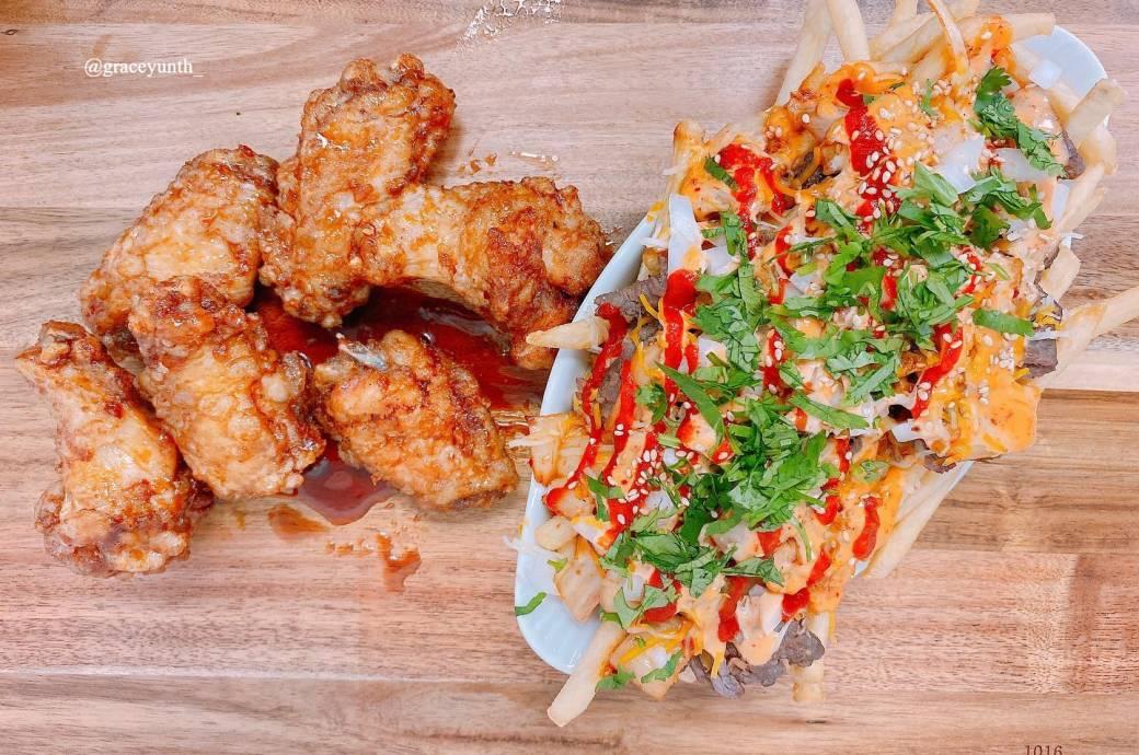 BIBIO - Wings and Kimchi Fries