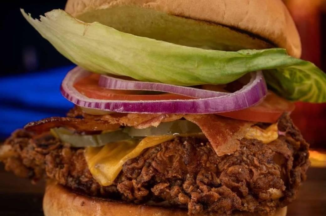 Woo Woo Burgers - Chicken Sandwich