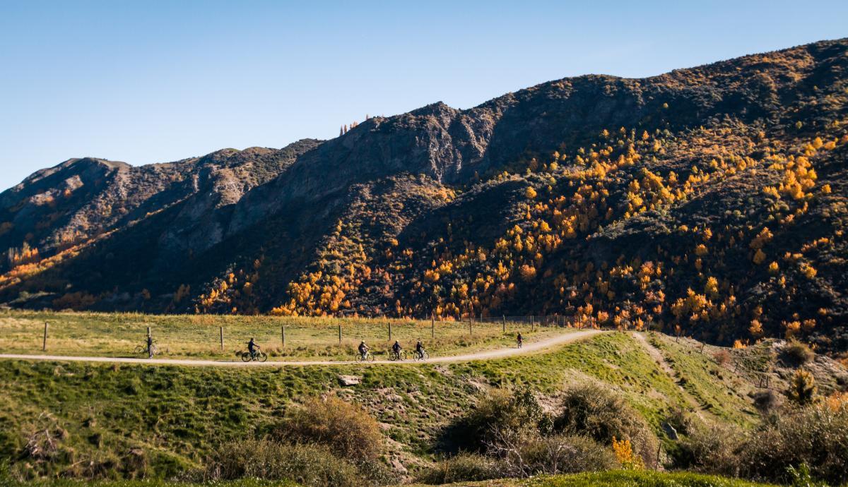 Gibbston River Trail: credit Gibbston Valley