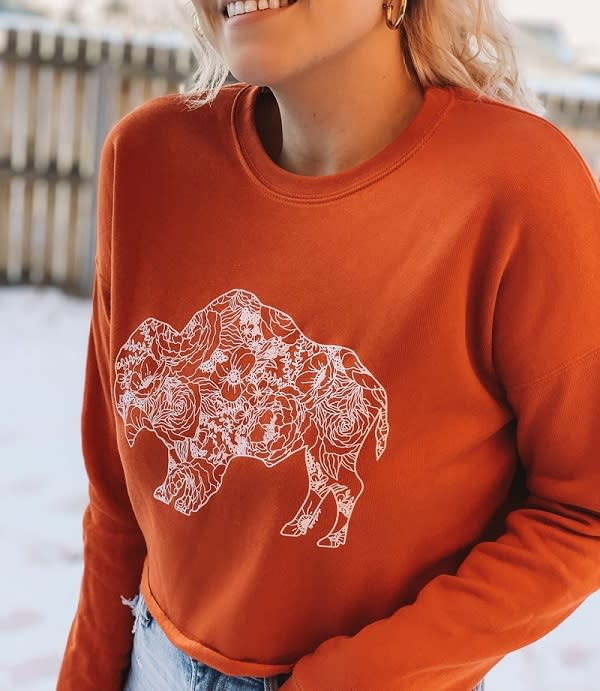Sweatshirt from Ruby WYLD Boutique