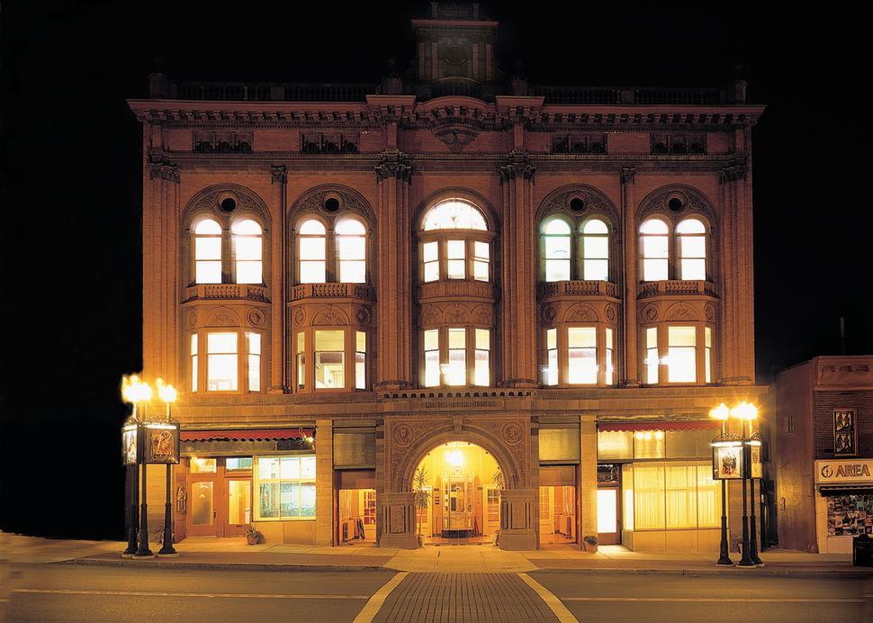 The Historic Smith Opera House at Night, Photo Credit: Jan Regan Photography