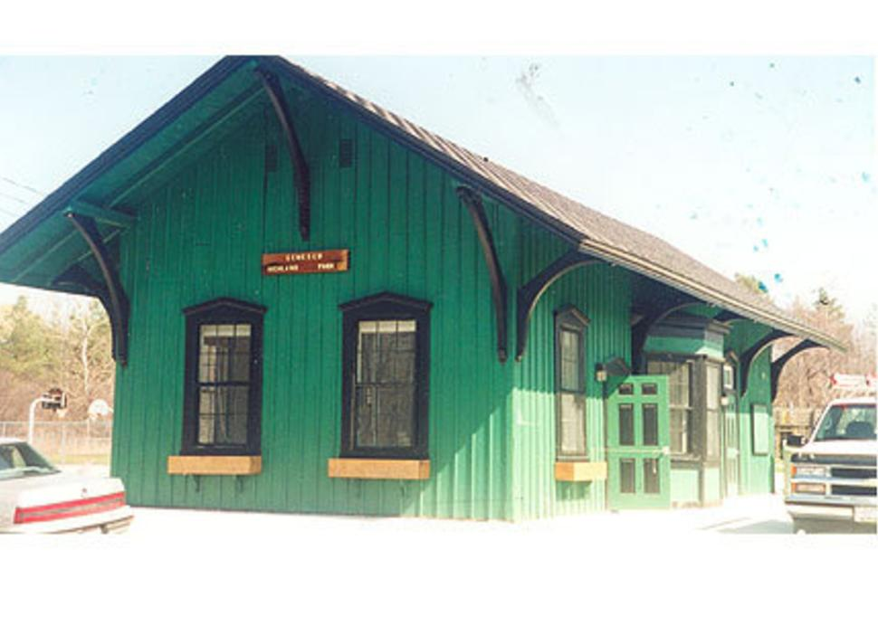 Erie Depot in Highland Park