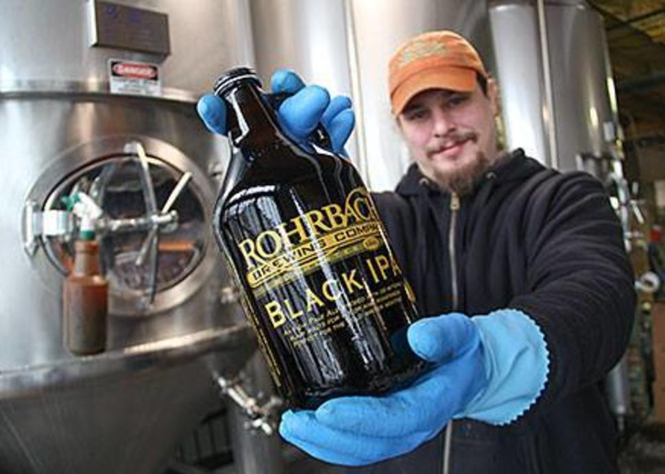 Rohrbach's brewed in Rochester, NY