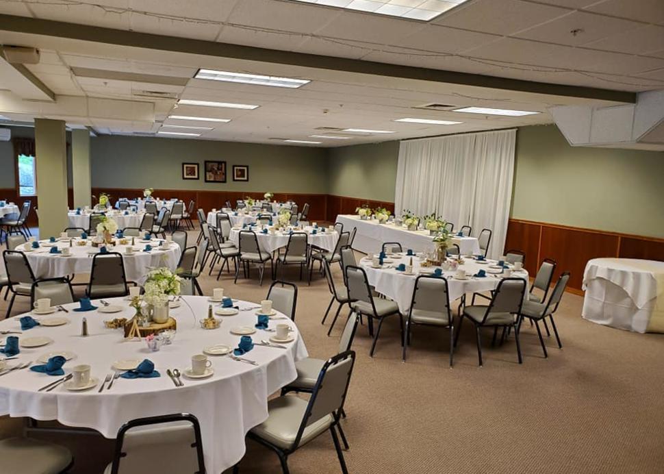 Inside Event Center
