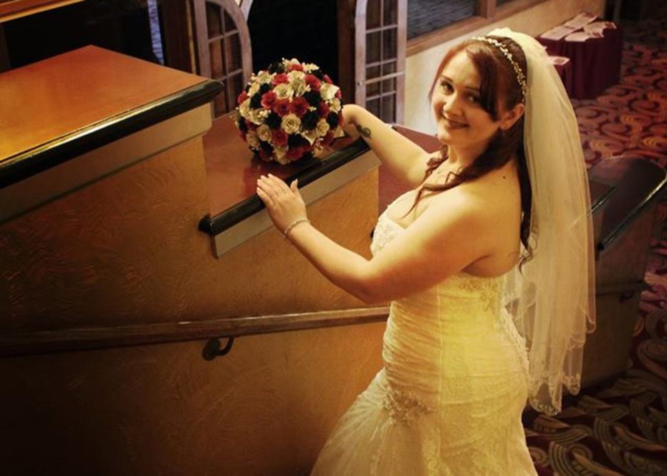 Smith Center for the Arts, Wedding Bride, Photo Credit: Jan Regan Photography