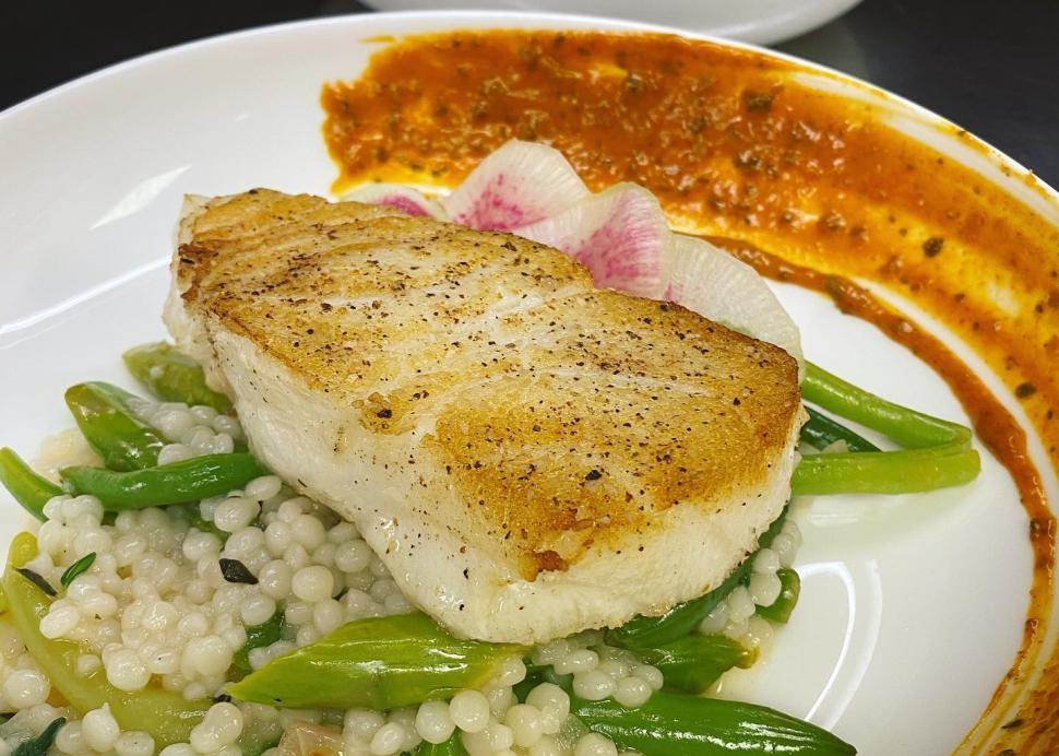 Sea Bass at Erie Grill